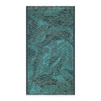 Safavieh Palazzo Southwest 2-Foot x 3-Foot 6-Inch Accent Rug in Black/Turquoise