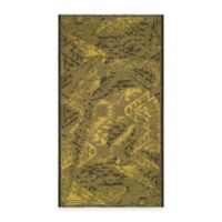 Safavieh Palazzo Southwest 2-Foot x 3-Foot 6-Inch Accent Rug in Black/Green