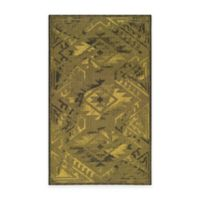 Safavieh Palazzo Southwest 8-Foot x 11-Foot Area Rug in Black/Green