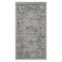 Safavieh Palazzo Cade 2-Foot 6-Inch x 5-Foot Area Rug in Light Grey/Anthracite