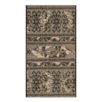 Safavieh Palazzo Halen 2-Foot x 3-Foot 6-Inch Accent Rug in Black/Beige