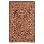 Safavieh Palazzo Kadri 5-Foot x 8-Foot Area Rug in Black/Cream