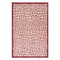 Safavieh Infinity Izo 4-Foot x 6-Foot Area Rug in Yellow/Red