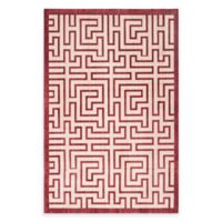Safavieh Infinity Izo 5-Foot 1-Inch x 7-Foot 6-Inch Area Rug in Yellow/Red