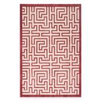 Safavieh Infinity Izo 8-Foot x 10-Foot Area Rug in Yellow/Red