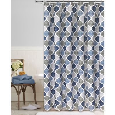 blue and gray shower curtain. Priya 54 Inch x 78 Stall Shower Curtain Buy in Curtains from Bed Bath  Beyond