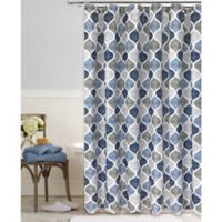 Priya 72-Inch x 96-Inch Shower Curtain