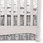 Liz and Roo Woodland Tailored Crib Skirt