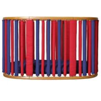 Go Mama Go Designs® Wonder Bumpers for Stokke Cribs in Navy/Red