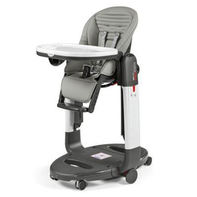 High Chairs U003e Peg Perego Tatamia High Chair In Grey Stripes