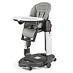 Peg Perego Tatamia High Chair in Grey Stripes
