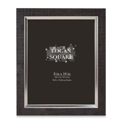 buy 8 x 10 black wood frame from bed bath beyond