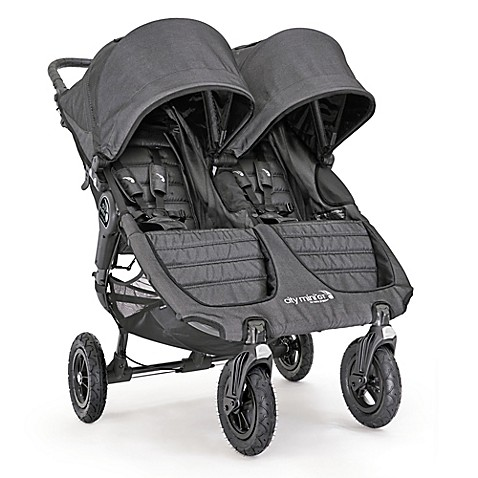 Baby Jogger 174 City Mini 174 Gt Double Stroller In Charcoal