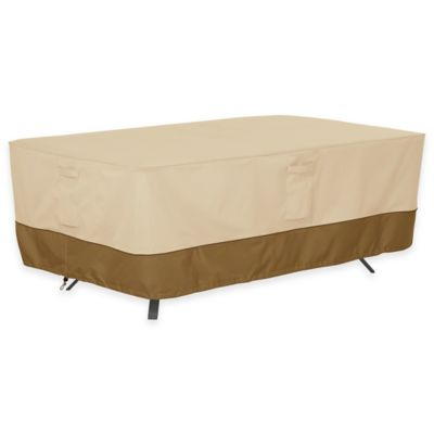 Classic Accessories  Veranda Extra Large Rectangle Oval Patio Table Outdoor  CoverBuy Extra Large Furniture Covers from Bed Bath   Beyond. Extra Large Sofa Cover Outdoor. Home Design Ideas