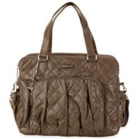 Kalencom® Berlin Quilted Diaper Bag in Mocha