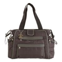 Kalencom® Nola Featherweight Quilted Tote Diaper Bag in Asphalt