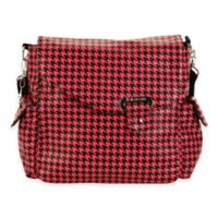 Kalencom® Ozz Messenger Bag in Pink/Black Houndstooth