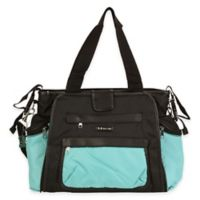 Kalencom® Nola Tote Diaper Bag in Blue/Black