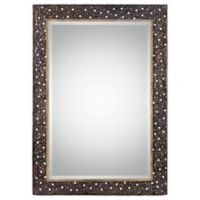 Uttermost 29.5-Inch x 41.75-Inch Khalil Mirror in Dark Bronze