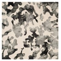 Safavieh Dip Dye Camo 7-Foot Square Area Rug in Beige/Charcoal