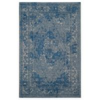 Safavieh Palazzo Lang 4-Foot x 6-Foot Area Rug in Light Blue/Blue