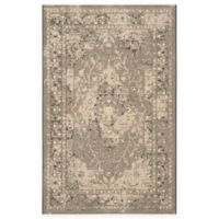 Safavieh Palazzo Lang 5-Foot x 8-Foot Area Rug in Black/Cream