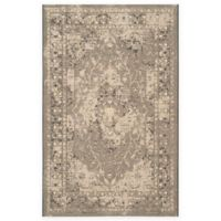 Safavieh Palazzo Lang 8-Foot x 11-Foot Area Rug in Black/Cream
