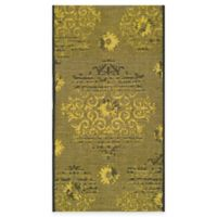 Safavieh Palazzo Olen 2-Foot x 3-Foot 6-Inch Accent Rug in Black/Green
