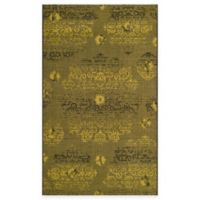 Safavieh Palazzo Olen 8-Foot x 11-Foot Area Rug in Black/Green