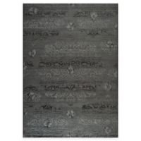 Safavieh Palazzo Olen 8-Foot x 11-Foot Area Rug in Black/Grey