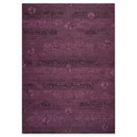 Safavieh Palazzo Olen 8-Foot x 11-Foot Area Rug in Black/Purple