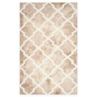 Safavieh Dip Dye Diamonds 6-Foot x 9-Foot Area Rug in Beige/Ivory