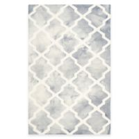 Safavieh Dip Dye Diamonds 6-Foot x 9-Foot Area Rug in Grey/Ivory