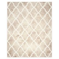 Safavieh Dip Dye Diamonds 8-Foot x 10-Foot Area Rug in Beige/Ivory