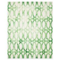 Safavieh Dip Dye Chain 8-Foot x 10-Foot Area Rug in Ivory/Green