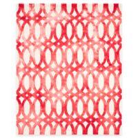 Safavieh Dip Dye Chain 8-Foot x 10-Foot Area Rug in Ivory/Red