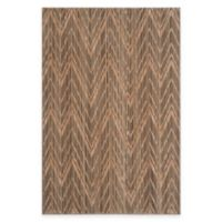 Safavieh Infinity Chevron 5-Foot x 7-Foot Area Rug in Brown