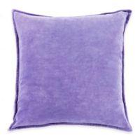 Surya Velizh 18-Inch Square Throw Pillow in Iris