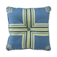 Waverly® Floral Engagement Square Throw Pillow in Porcelain
