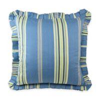 Waverly® Floral Engagement European Pillow Sham in Porcelain