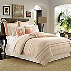 Tommy Bahama® La Scala Breezer Queen Comforter Set in Papaya
