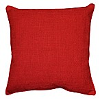 Teena Throw Pillow in Red