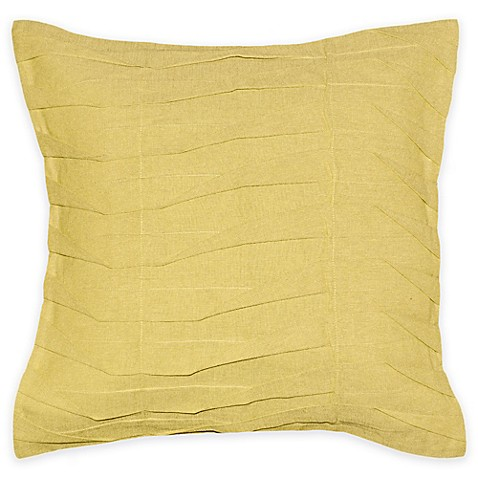 Buy Z-Lines 20-Inch Square Throw Pillow in Yellow from Bed Bath & Beyond