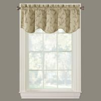 Kensett Scalloped Window Valance in Natural