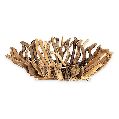 image of 22-Inch x 16-Inch Driftwood Bowl