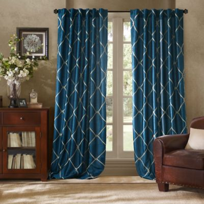 Buy Peacock Curtain Panels From Bed Bath Beyond