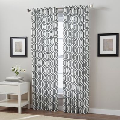 Charcoal Curtain Panels - Curtains Design Gallery