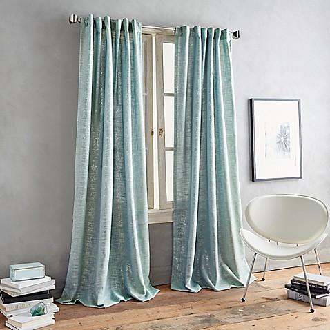 Buy Dkny Urban Luster 63 Inch Back Tab Window Curtain
