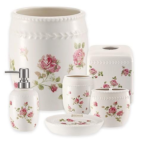 Piper wright rosalie bath ensemble bed bath beyond for Bath accessories sale
