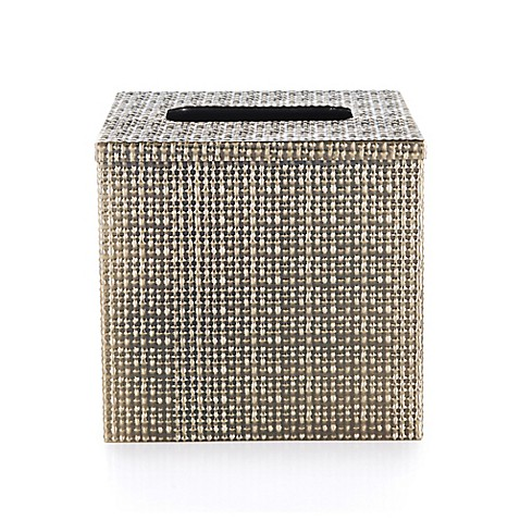 lyon metal boutique tissue box cover bed bath beyond. Black Bedroom Furniture Sets. Home Design Ideas